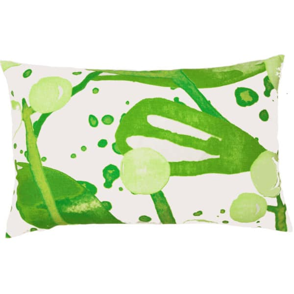 Slånbär Cushion cover 45x70 green