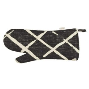 Mairo grillvante mönster Èlastique svart vit