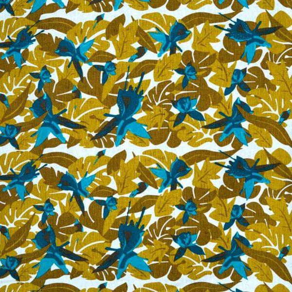 Tyg Fuchsia aqua