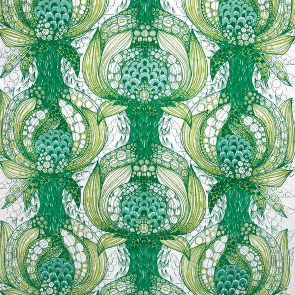 Tyg Havstulpan grön