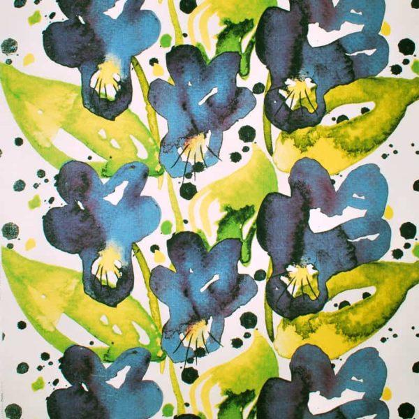 Mairo Tyg mönster Styvmorsviol