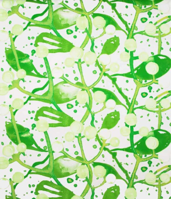 Gardinsömnad Slånbär Grön