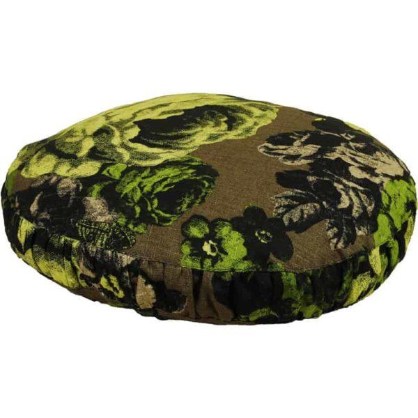 Kuddfodral Baronessa brun/grön