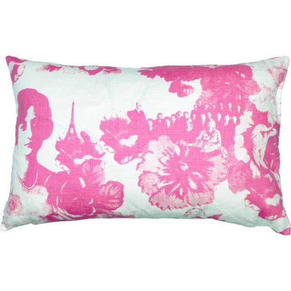 Kuddfodral Mademoiselle 45x70 Rosa