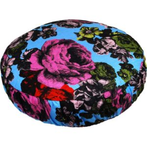 Baronessa Cushion cover 50 cm blue/raspberry