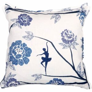 Ballerina Cushion cover 48x48 blue