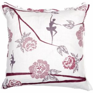 Ballerina Cushion cover 48x48 lilac