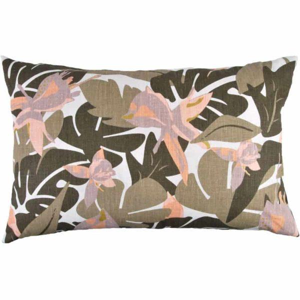 Kuddfodral Fuchsia 45x70 Natur