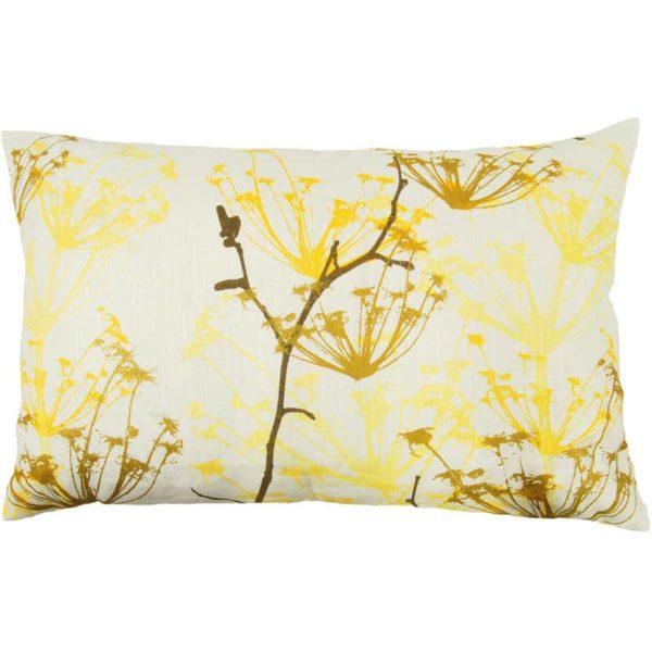 Ogräs Cushion cover 45x70 yellow