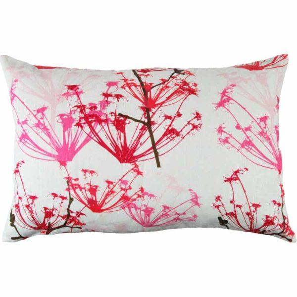 Ogräs Cushion cover 45x70 raspberry