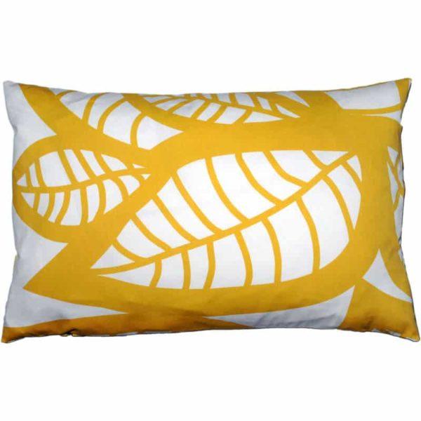 Hosta Cushion cover 45x70 yellow