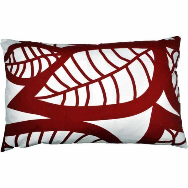 Hosta Cushion cover 45x70 red