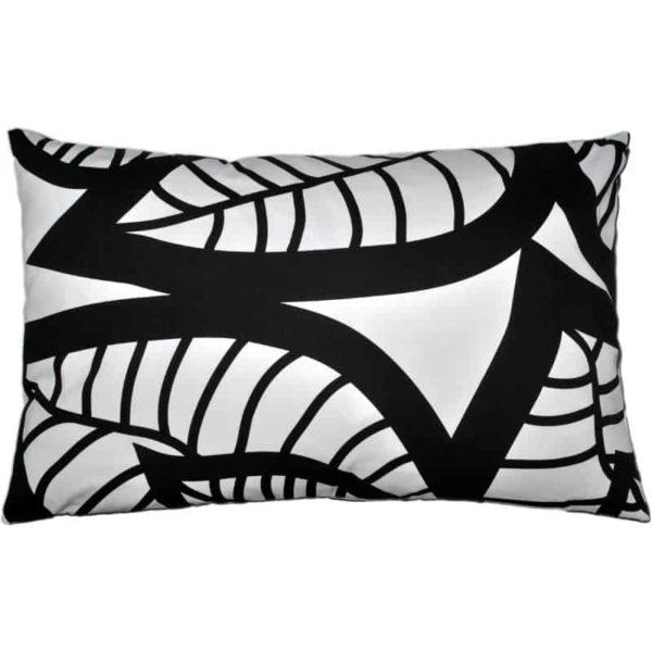 Hosta Cushion cover 45x70 black
