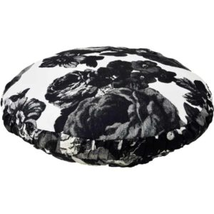 Baronessa Cushion cover 50 cm black/white