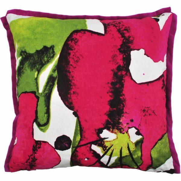Styvmorsviol Cushion cover 48x48 cerise