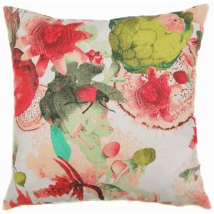 Anemone Cushion cover 48x48 coral