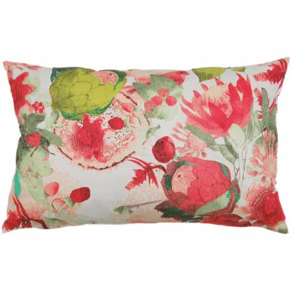Anemone Cushion cover 45x70 coral