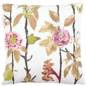 Flowerwall Cushion cover 48x48 sand