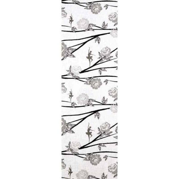 Ballerina Table Runner black