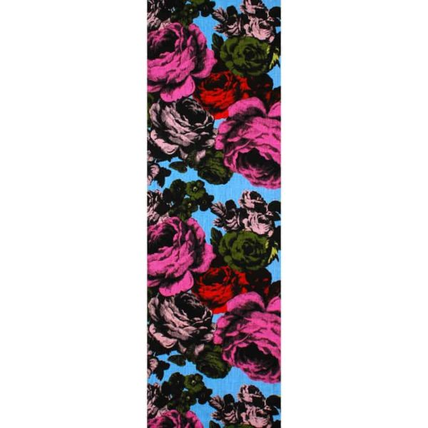 Baronessa Table Runner blue/raspberry