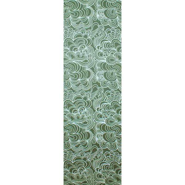 Panel Blomma grön