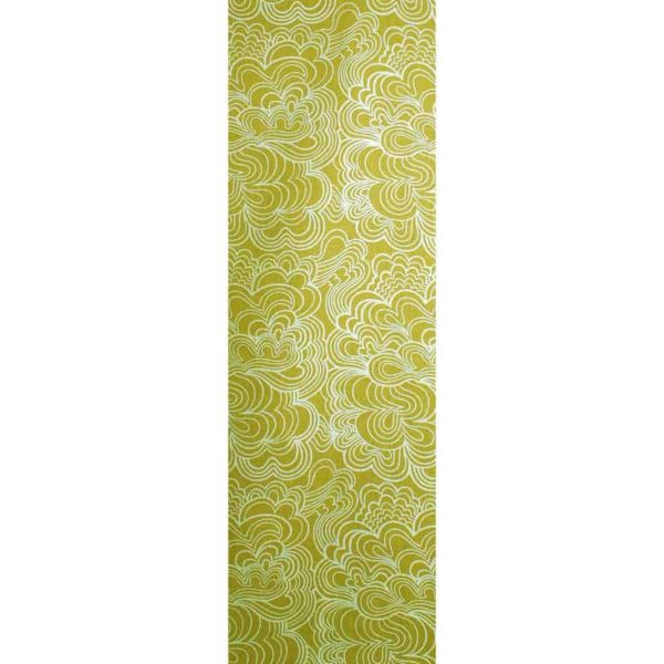 Panel Blomma ljusgrön