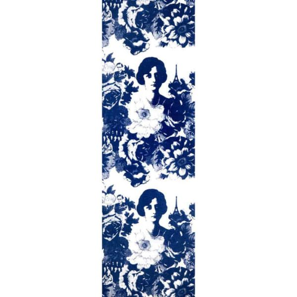 Löpare Mademoiselle blå