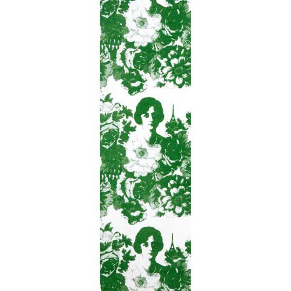 Löpare Mademoiselle grön