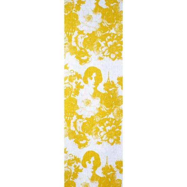 Mademoiselle Table Runner yellow