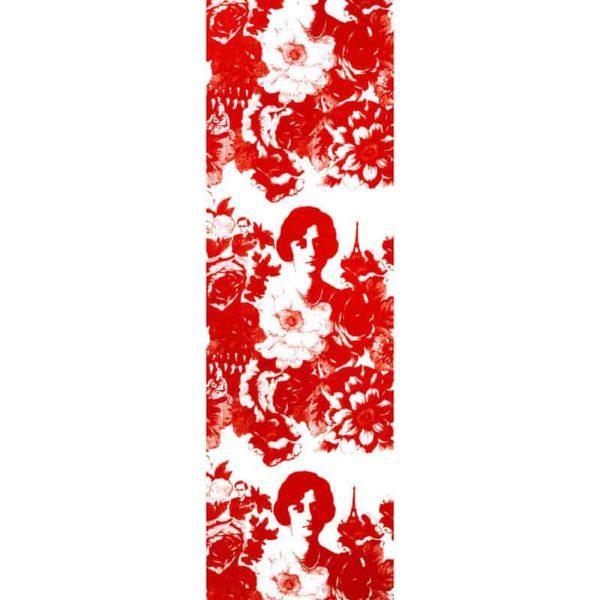 Löpare Mademoiselle röd