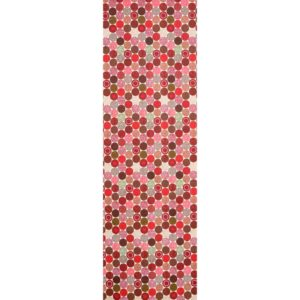 Strössel Table Runner red