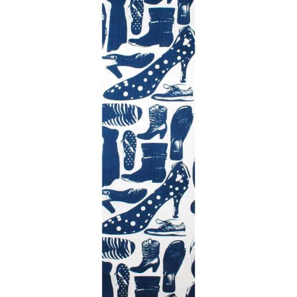 Svärmor Table Runner 43x145 blue