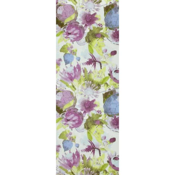 Anemone Table Runner lilac