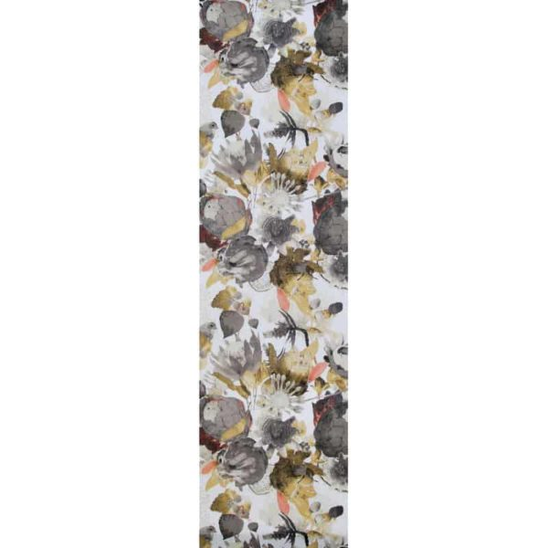 Anemone Table Runner grey