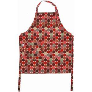 Förkläde Strössel röd