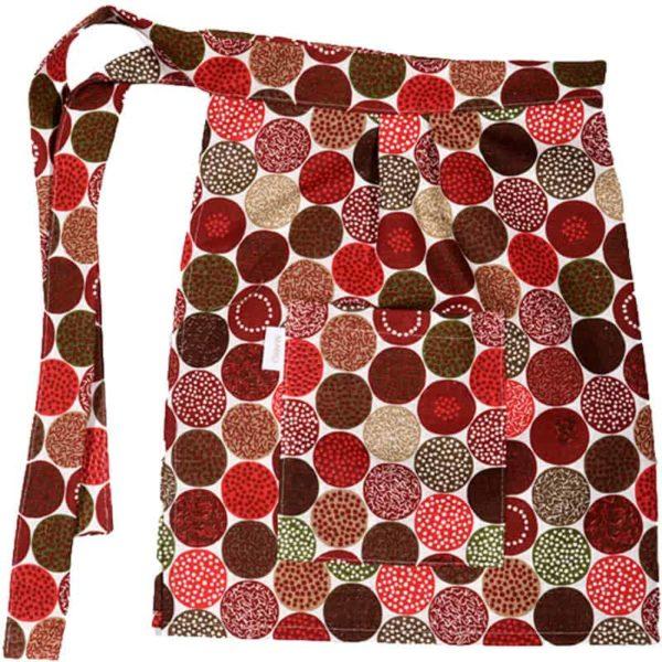 Midjeförkläde Strössel röd
