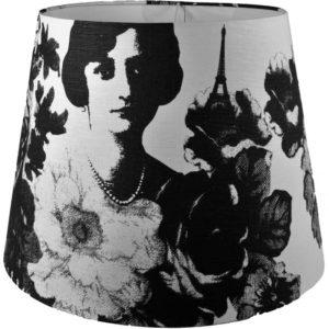 Lampskärm Mademoiselle svart