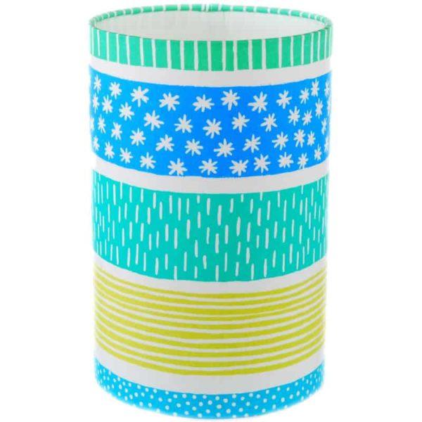 Lampskärm Mizu blå