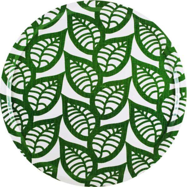 Bricka Ranka grön 46 cm
