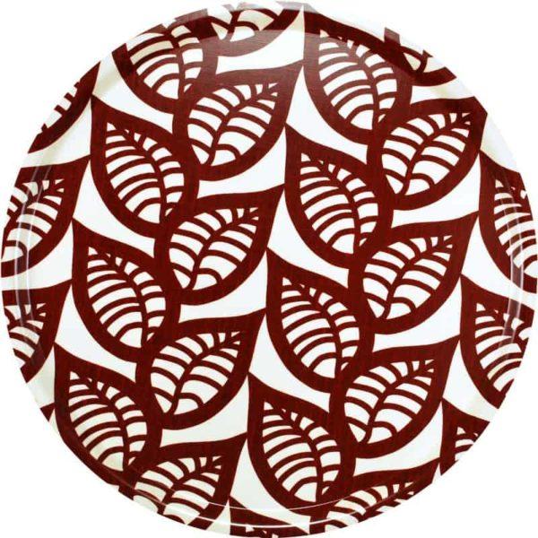 Bricka Ranka röd 46 cm