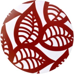 Grytunderlägg Ranka röd