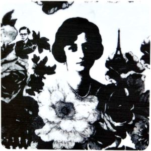 Glasunderlägg Mademoiselle