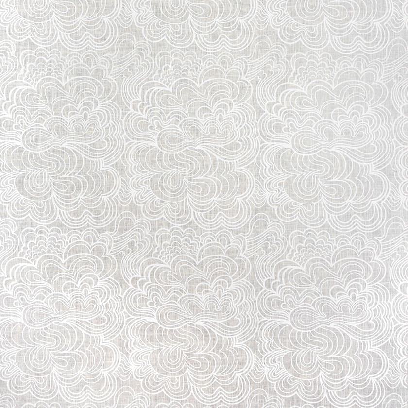 Blomma vit/vit