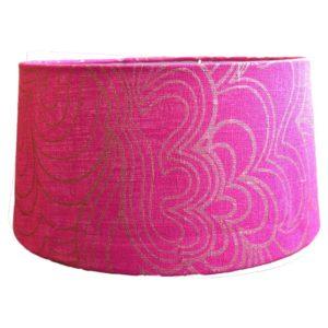 Lampskärm Blomma rosa