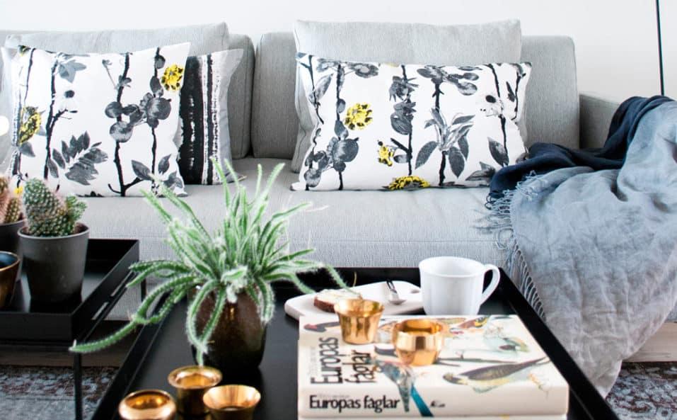 Mairo vardagsrum mönster Flowerwall