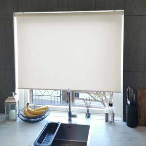 Mairo rullgardin Semi-Transparent ljusbeige