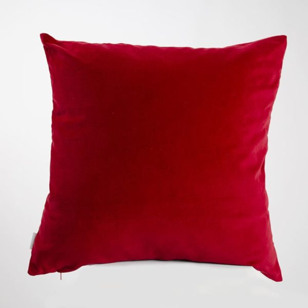 Mairo Kuddfodral Sammet Röd
